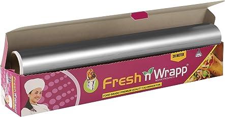 Fresh N Wrapp Food Grade Super Save Aluminium Foil 20 Meter