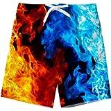 Spreadhoodie Ragazzi Pantaloncini Costume da Bagno 3D Stampato Quick Dry Swim Pantaloncini Sportivi da Corsa…