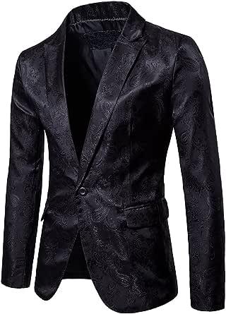 Mens Slim Fit Blazer & Trouser Tuxedo Dinner Suit Casual Premium Blazer Jacket