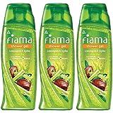 Fiama Lemongrass and Jojoba Gentle Exfoliation Shower Gel, 250 ml (Pack of 3)