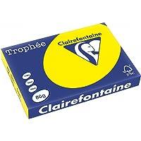 Trophée 1887C Fogli A3, Confezione da 500 Pezzi, Giallo