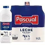 Pascual Leche Entera, Pack de 6 x 1200ml
