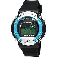 Sonata Digital Grey Dial Men's Watch -NL7982PP04