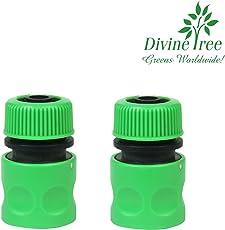 Divine Tree 3/4 Inch Hose Nozzle Garden Water Hose Quick Connector…