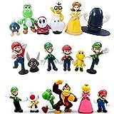 Super Mario Toys Figurine Action Figures Collezione Topper Decorazione Modello Regali Giocattoli per Bambini PVC Toy Figures