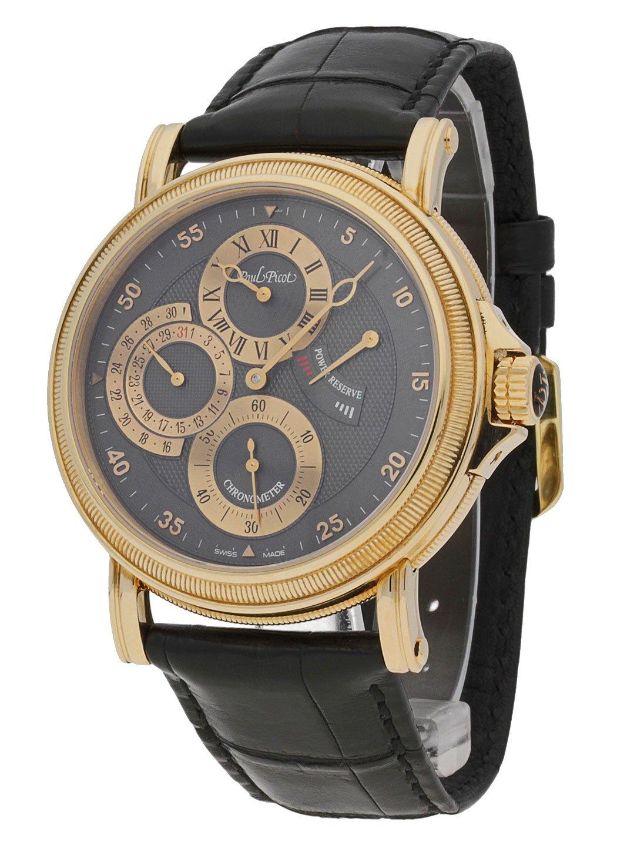 Paul Picot Herren-Armbanduhr Atelier Regulateur Datum Gangreserve-Anzeige Analog Automatik Chronometer...