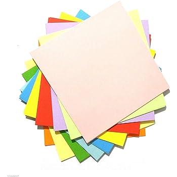 100 Sheets Origami Paper 95cm X 95cm Square 10 Different