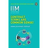 Contract Terms Are Common Sense- IIMA Series