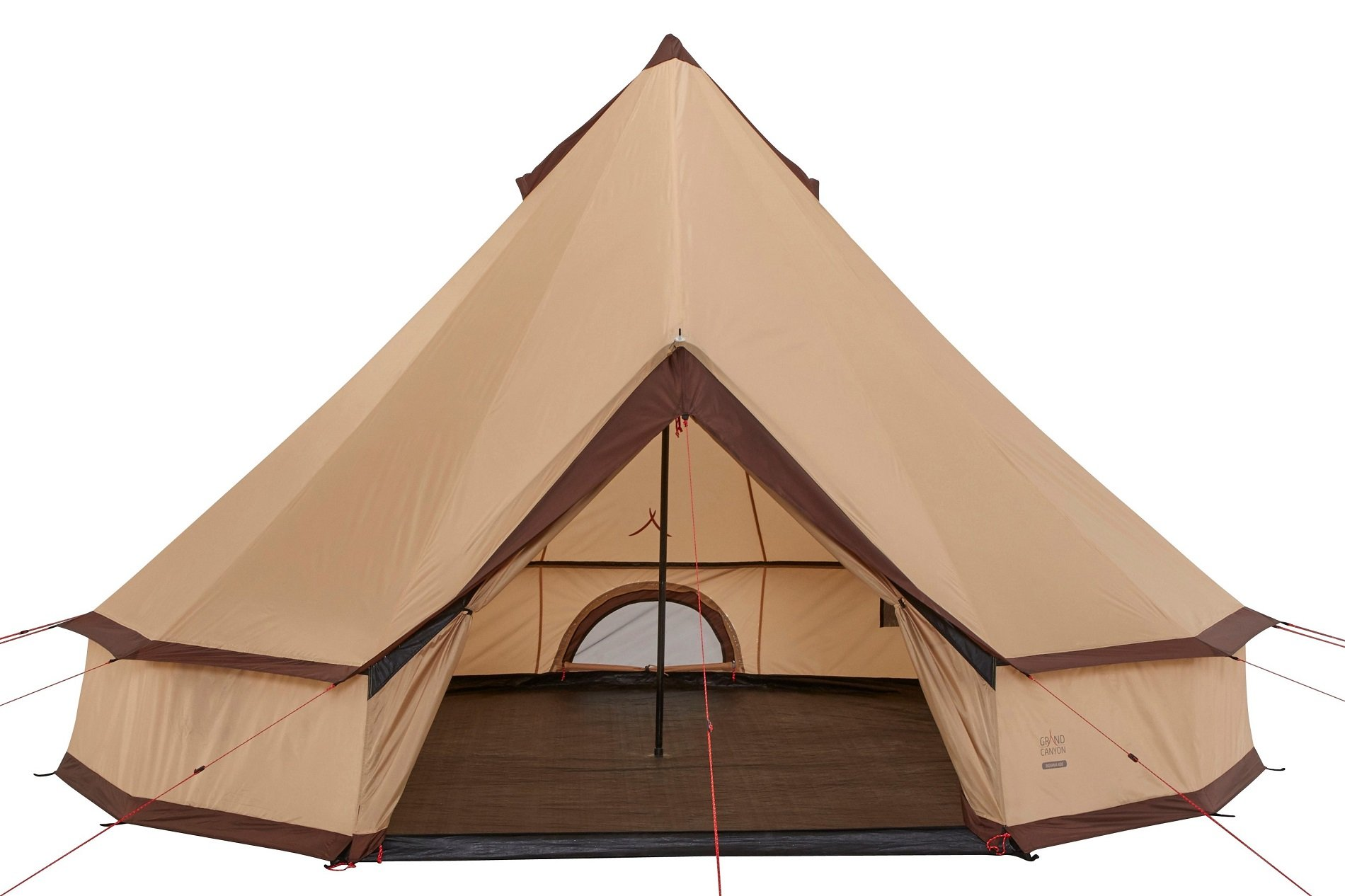 GRAND CANYON Indiana - round tent ( 8-person tent), beige, 602020 1
