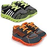 SMARTOTS Unisex-Baby's Running Shoe (Set of 2 Pairs)