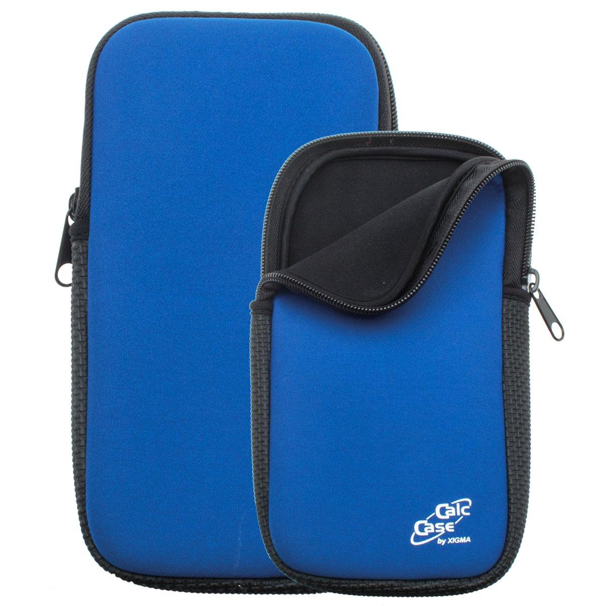 Protezione Borsa per calcolatrice grafica (calccase), blu (Blu) - CC SOFTY BLUE