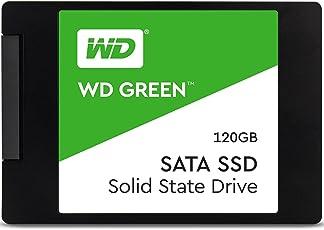 WD Green SSD 120 GB, 2,5 Zoll Interne Festplatte bis zu 545 MB/s Lesegeschwindigkeit; SSD (Solid State Drive) - SATA 6 Gbit/s