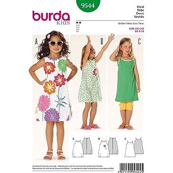Burda Kinder Schnittmuster 9460, Kleider und Overalls, Alter: 2–6 ...