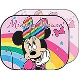 Disney Minnie Sunshade Coppia di Tendine Laterali Parasole Auto Bambina Rosa