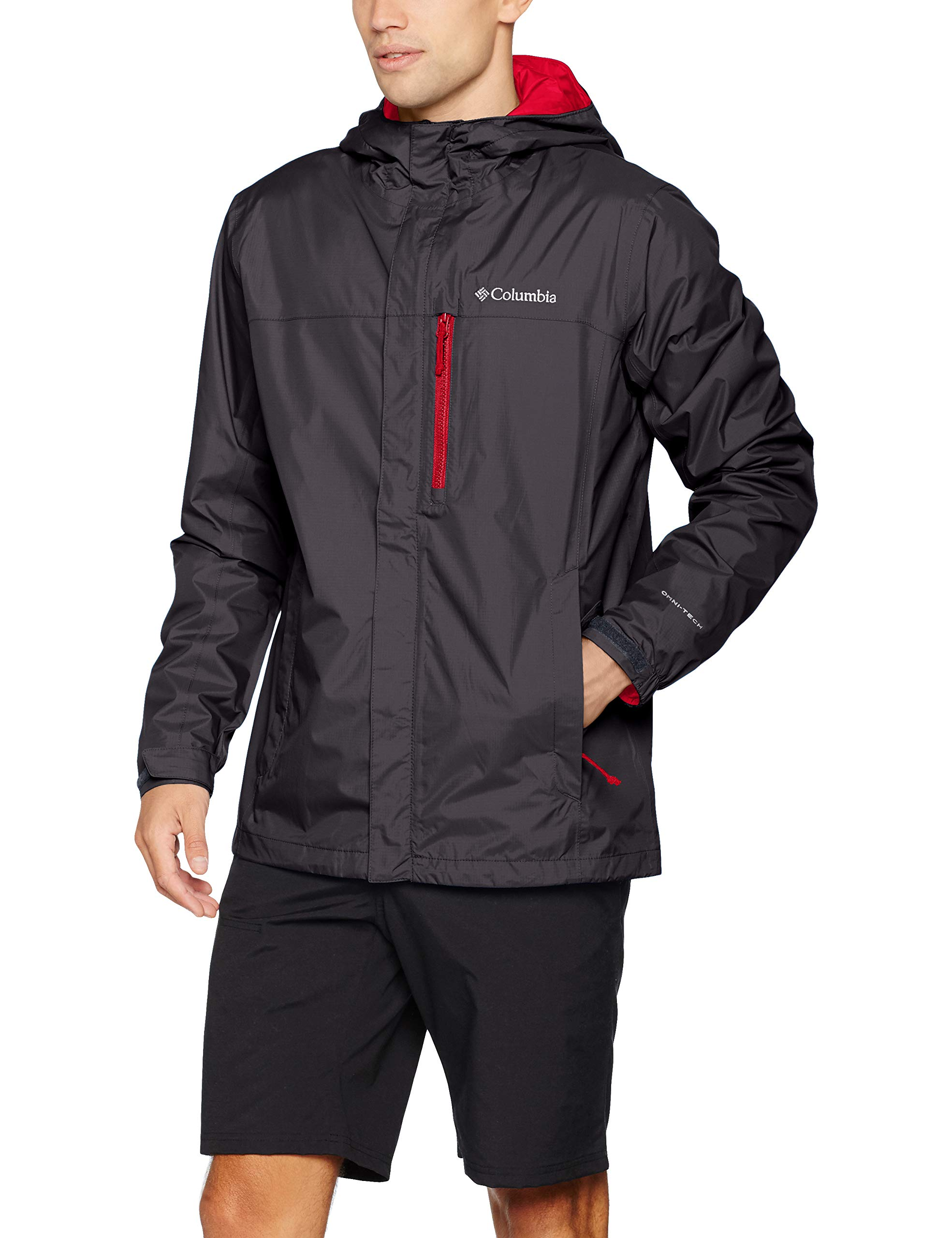Columbia 1760061 Pouring Adventure II Jacket Chaqueta impermeable, Hombre, Nailon