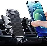 andobil Handyhalterung Auto Lüftung [Stabil & Never Fall] Patent Design mit 2 Lüftungsclips [Flexible & Freie Aussicht] 360°