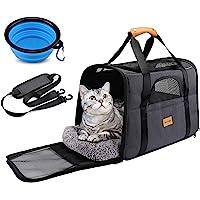 morpilot Hundetasche Transportbox, Atmungsaktive und Faltbare Hundebox, Katzen transportboxen mit Verstellbarem…