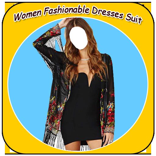 Women Fashionable Dresses Suit (Suits Designer Pant)