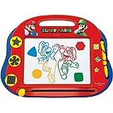Lexibook - CRNI550 magisk magnetisk Nintendo Super Mario rittavla, magnetisk tavla för barn, konstnärlig kreativ leksak för f