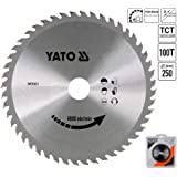 Yato YT 6095Kreissägeblatt für Aluminium 250x 100x 30mm