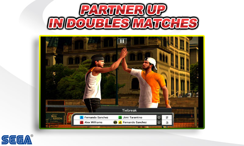 Virtua Tennis Challenge Screenshot