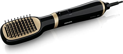 Philips HP8659 Kerashine Essential Care Air Styler (Not Straightener) - Black/Golden