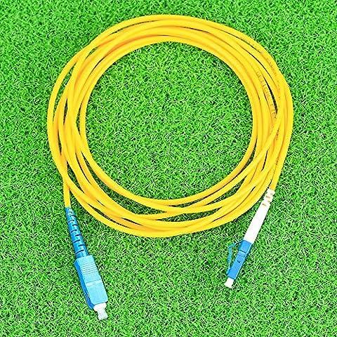 Cruiser sc-lc Pull Cble fibre optique FTTH connecteur simple Core Pull en fibre Câbles 3m
