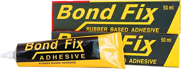 Cleanmax Bondfix Synthetic Rubber Based Adhesive (Pack Of 2) - 50ml