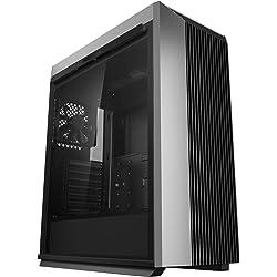 DEEP COOL CL500 PC ATX Contenitore per Semiponte a Torre, Pannelli in Mesh, Flusso d'Aria Elevato, con I/O Frontale USB Tipo-C