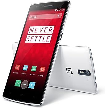 OnePlus One Smartphone CyanogenMod 11S Android Qualcomm Snapdragon Ram 3Gb Rom 16Gb LTE NFC Bianco