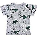 Tkria Niños Bebé Sudaderas Camiseta de Manga Larga Lindo Cohetes Tops para Niña 1 2 3 4 5 6 7 años