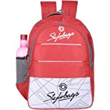 Stylebags College School Office Laptop Backpack Bags Medium Size Red (2242)