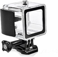 SHOOT Wasserdicht Schutz Gehäuse mit Quick Release Berg und Rändelschraube für GoPro Hero 4 Session Kamera
