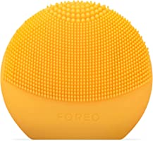 FOREO LUNA fofo Smart Facial Cleansing Brush and Skin Analyzer, Sunflower Yellow