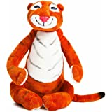 AURORA 60142 Tiger Who Came to Tea Soft Toy, 10.5-inches, Orange & White, Character from The Book, Orange and White