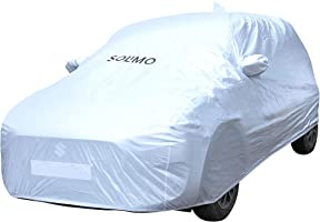 Amazon Brand - Solimo Maruti Swift Water Resistant Car Cover (Silver)
