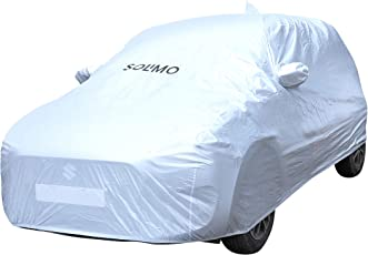 Amazon Brand - Solimo Maruti Swift Waterproof Car Cover (Silver)