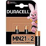 Duracell Pilas especiales alcalinas MN21 de 12V, paquete de 2 unidades A23/23A/V23GA/LRV08/8LR932, diseñadas para su uso en