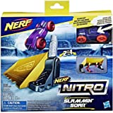 Hasbro Nerf Nitro Double Action Stunt Schaum Auto Set - Lila Auto