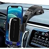 Mpow Supporto Cellulare Auto, Porta Cellulare Auto per Cruscotto con Ventosa Potente, Doppio Pulsante di Rilascio, Compatibil