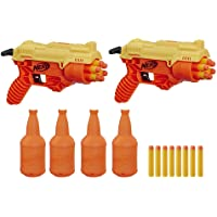 Nerf Alpha Strike Cobra RC 6 Duel Blasters with Targetting Set, Ages 8 and up