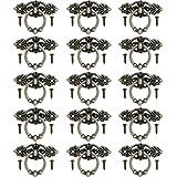 inherited 15 stks Kast Ring Trek Handvat Retro Knop, Vintage Deurknoppen, Vintage Keukenkast Dressoir Deur Lade Ring Pull Han