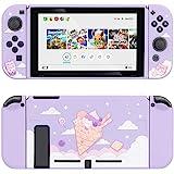 Custodia protettiva GeekShare per Switch, custodia morbida in TPU sottile compatibile con console Nintendo Switch e Joy-Con (