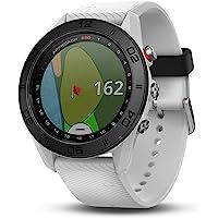 Garmin S60 Écran Tactile Bluetooth Blanc Montre de Sport