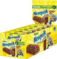 Nesquik Maxi Choco Barrette di Cereali al Cioccolato e al Latte, 24 Pezzi