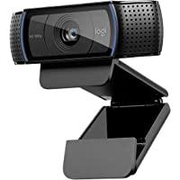Logitech C920 HD PRO Webcam, Full-HD 1080p, 78° Sichtfeld, Autofokus, Klarer Stereo-Sound, Belichtungskorrektur, USB…