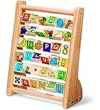 Melissa & Doug Educational Toy - ABC 123 Abacus, Multi Color