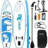 INTEY Tavola da SUP 305×76×15cm SUP Gonfiabile, capacità di Carico di 145 kg, Stand Up Paddle Board, ISUP Tavola da Surf…