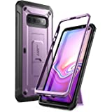 SupCase Unicorn Beetle Pro Series Designed for Samsung Galaxy S10 Case (2019 Release) Full-Body Dual Layer Rugged with Holste