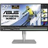 "ASUS ProArt PA27AC 27"" Monitor Professionale, WQHD, 2560 x 1440, IPS 4 side-frameless, HDR, 100% sRGB/Rec.709, △E< 2…"